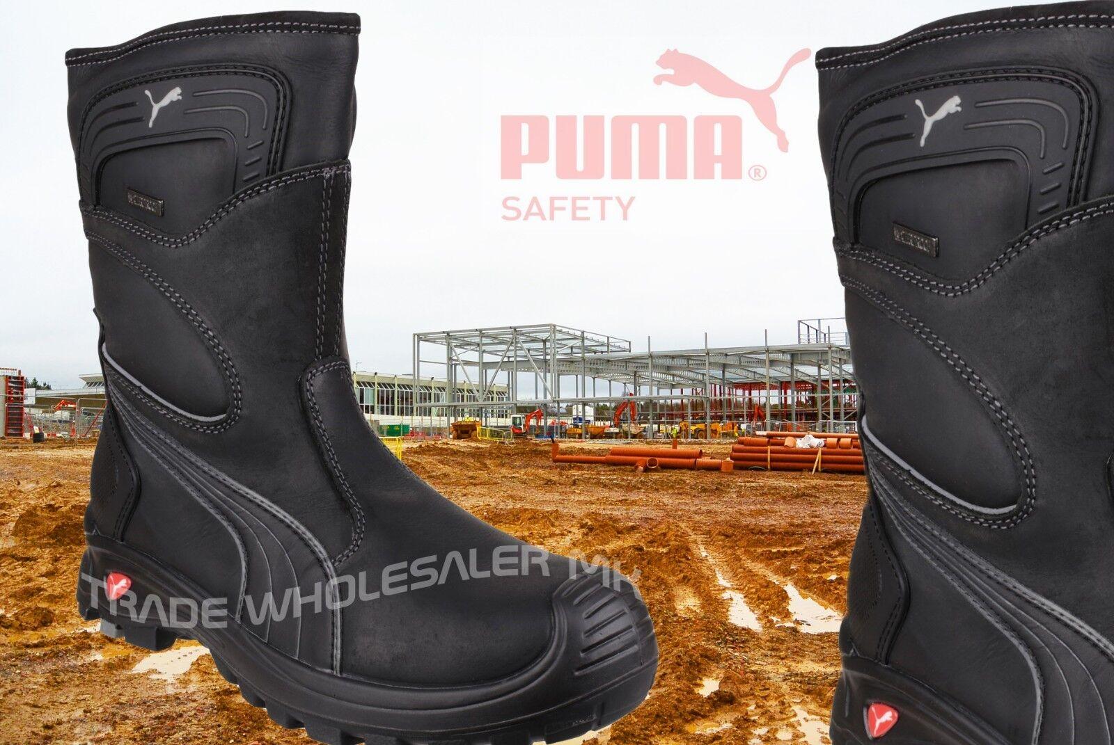 7147a3b350d Puma Rigger Industrial Mens S3 Safety Composite Metal Free Toe Cap Boots