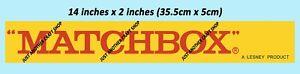 Matchbox-Toys-decada-de-1960-Vintage-Tienda-transmisor-de-bandera-de-signo-CARTEL-ANUNCIO-FOLLETO-X