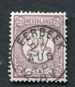 Nederland nvph 33, 2½ ct Cijfer, met kleinrond EERBEEK