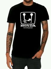 Brand new Honda t-shirt Connecting people funny tee cars civc naughty t-shirt