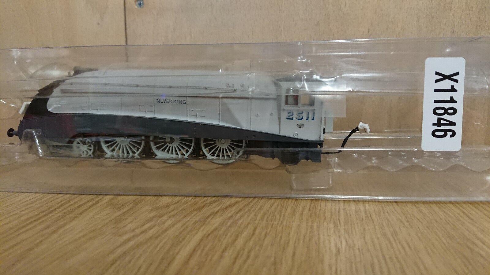 Hornby OO Gauge Silber KING A4 Locomotive No Tender UnBoxed NEW