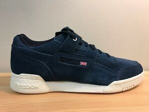 sneakers for cheap b803b 62b5f Image is loading Reebok-Classic-Blue-Leather-Montana-Cans-Limited-Edition-