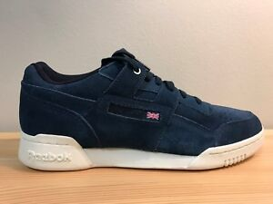 6314aadb9b9 Image is loading Reebok-Classic-Blue-Leather-Montana-Cans-Limited-Edition-