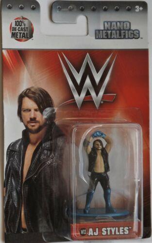 WWE-Officiel Nano DIE-CAST metalfigs New 12 To Choisir et p/&p réductions