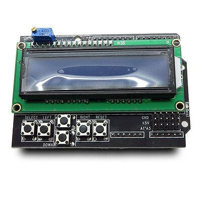 Arduino 16x2 Character LCD Shield
