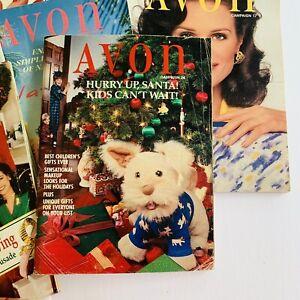 1994-Vintage-Avon-Catalog-Campaign-Books-Lot-of-22-Includes-duplicates