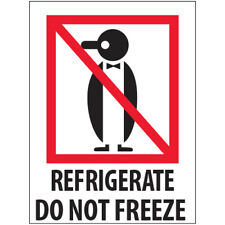 New Listing3 X 4 Refrigerate Do Not Freeze Labels 5000 Pcs