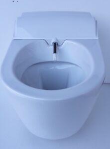 Geberit Aquaclean Sela Dusch Wc Komplettanlage Wandhangend Weiss