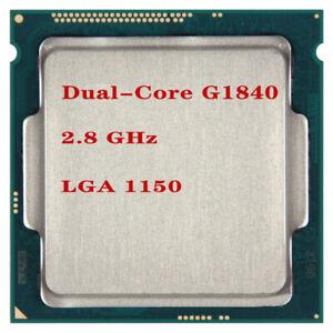 Intel Celeron Dual-Core G1840 2.8 GHz 53W SR1VK SR1RR LGA 1150 CPU 100% working
