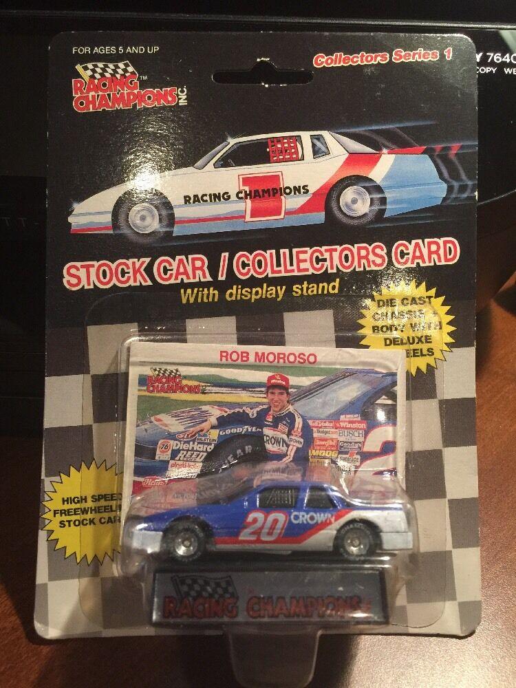 Racing Champions  Rob Mgoldso Crown Racing w Card & Display 1 64th 1989