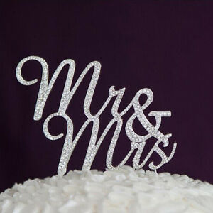 Mr Mrs Cake Topper Uk