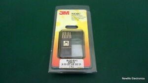 éNergique 3m 80 ‑ 6103 ‑ 3614 ‑ 3 24-pin Soic Montage En Surface Test Clip 923665-24 Doux Et AntidéRapant