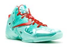 Nike Lebron 11 XI xmas Christmas size 13. 616175-301. green red mint. 12 XII 12