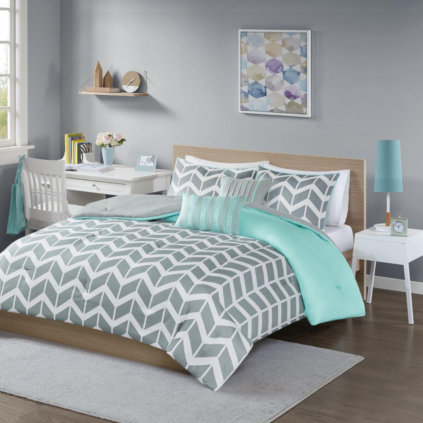 Intelligent Design Nadia Comforter Set Twin Twin X-Large, Teal
