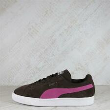 Womens Puma Suede Classic Brown/Pink Trainers (PFP1) RRP £69.99