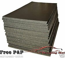 16 X SHEETS(10mm) CAR SOUND PROOFING DEADENING INSULATION SELF ADHESIVE MATERIAL