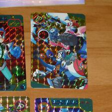 ROCKMAN X3 MEGAMAN CARD PRISM HOLO CARTE NO.87 MADE IN JAPAN 1995 CAPCOM NM