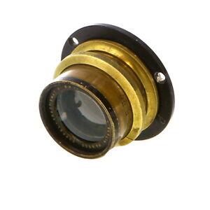 Vintage-C-E-Riese-Berlin-180mm-f-6-8-Doppel-Anastig-LF-Brass-Barrel-Lens-UG