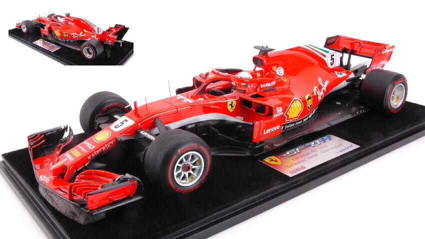 Ferrari SF71H S. Vettel 2018  5 Winner Canadian Gp 50th Victory 1 18 Model