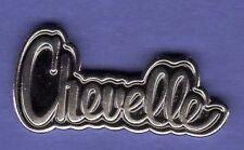 CHEVY CHEVELLE SCRIPT HAT PIN LAPEL TIE TAC BADGE #0870
