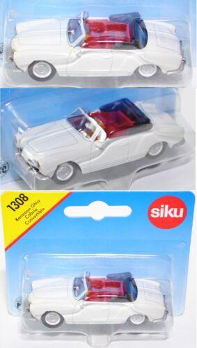 tipo 14 1:55 werbemodell//colección Siku Super 1308 VW Karmann Ghia cabrio