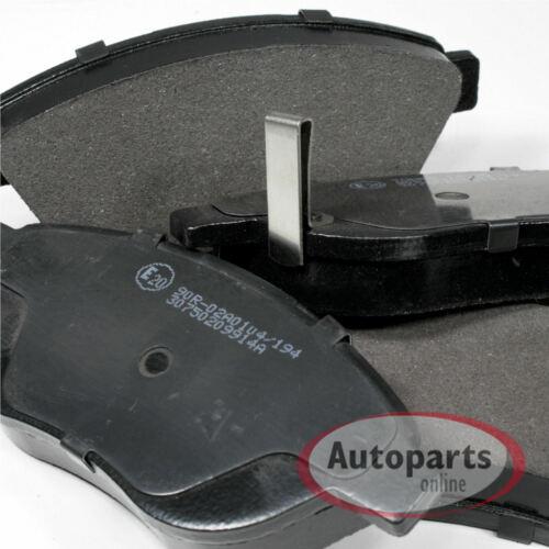 Bremsbeläge Bremsklötze Bremsen für vorne hinten Kia Carens 4 IV