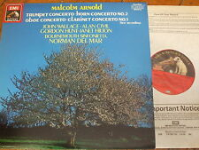 EL 27 0264 1 Arnold Concertos / Wallace / Civil / Del Mar etc.