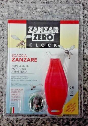 scaccia zanzare portatile a batteria Zanzar Zero Clock