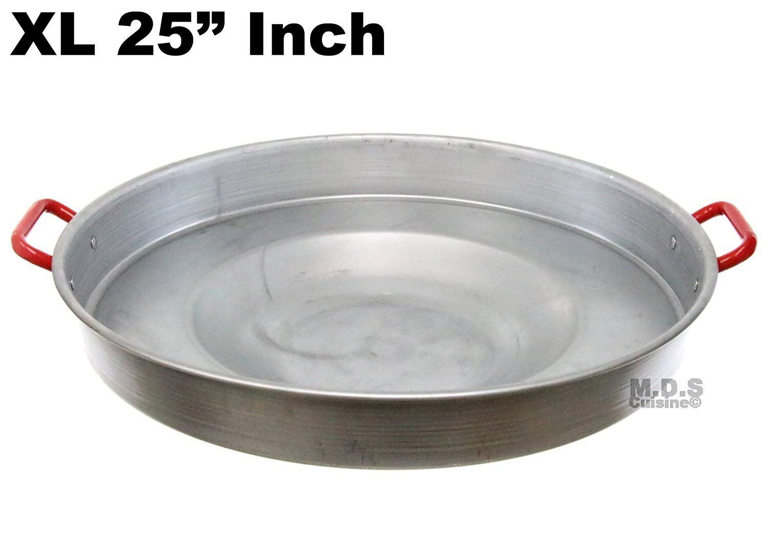 Comal 25  Concave Round Heavy Duty Traditional Durable Outdoors Stir Fry Para
