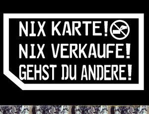 Details Zu Autohändler Visitenkarte Nein Danke Aufkleber Nix Karte Auto Bike