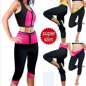 9924902de50 Short Slimming Pants Weight Loss Hot Thermo Sweat Sauna Neoprene ...