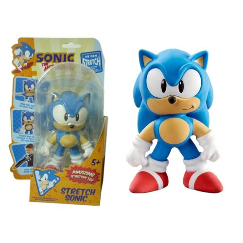 SONIC THE HEDGEHOG - STRETCH SONIC AMAZING STRETCHY TOY BRAND NEW UK SELLER