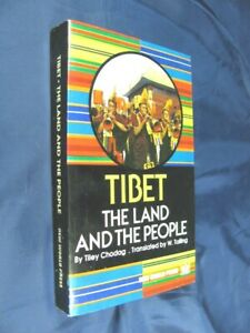 TIBET-Tiley-Chodag-THE-LAND-AND-PEOPLE-Tibet-amp-Tibetan-Buddhism-Culture-Book