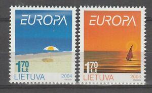 S36097 Lietuva Lithuania 2004 Europa Cept MNH 2v Holidays