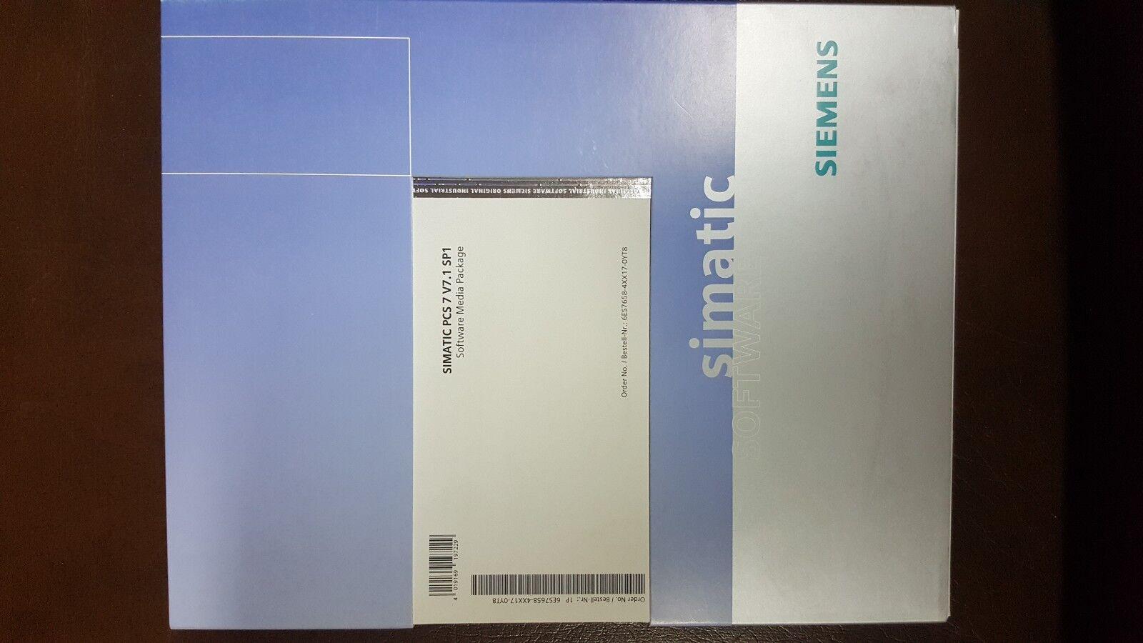 Simatic Pc 7 paquete de medios de software de de de software, V7.1 6ES7658-4XX17-0YT8 1872da