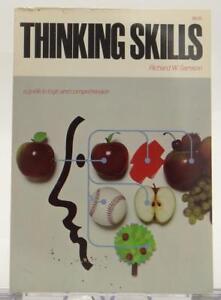Thinking-Skills-Richard-W-Samson-1965-Guide-Logic-Comprehension-SC-Illustrated