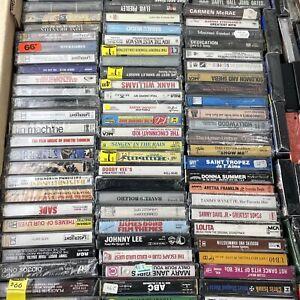 20 Random CASSETTE TAPES Lot - Mix of Rock - Pop - Metal 80s 90s Alternative