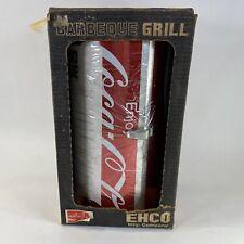 Vintage Coca Cola Coke Big Can Do Barbeque Bbq Portable Grill In Box Unused