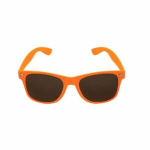 Neon-Orange-Framed-Dark-Lens-Fancy-Dress-Raver-Sunglasses