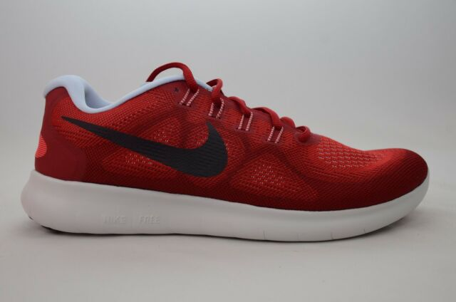 nike sales, Nike men's free rn running shoes red university