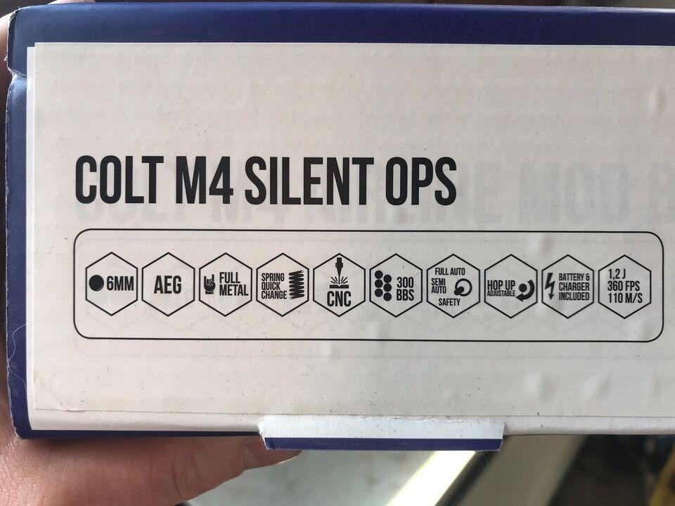 Hardballvåben, Cybergun Colt M4 Silent Ops