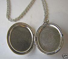 Vintage Hayward Sterling Silver Necklace & Locket ENGRAVED