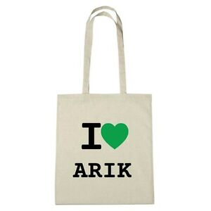Love Ambiente De I Color Arik Medio Yute natural Eco Bolsa Bt6q5T