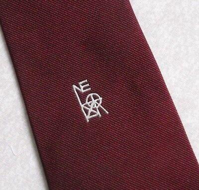 Ambizioso Vintage Cravatta Da Uomo Cravatta Crested Club Associazione Società-