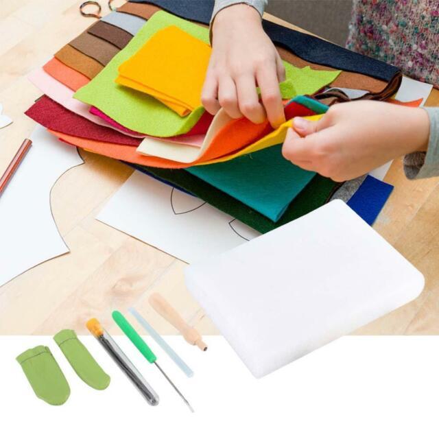 1 Set Craft Kit Wool Felt Tool Needle Felting Starter Kit Accessories