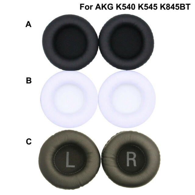 Replacement Ear Pads Cushions Earpads for AKG K540 K545 K845BT Sony MDR-XD100