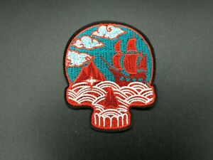 Parche-Patch-Skul-Pirate-Sea-Planchar-Mar-Pirata-Iron-Barco-Never-Say-Die-Cool