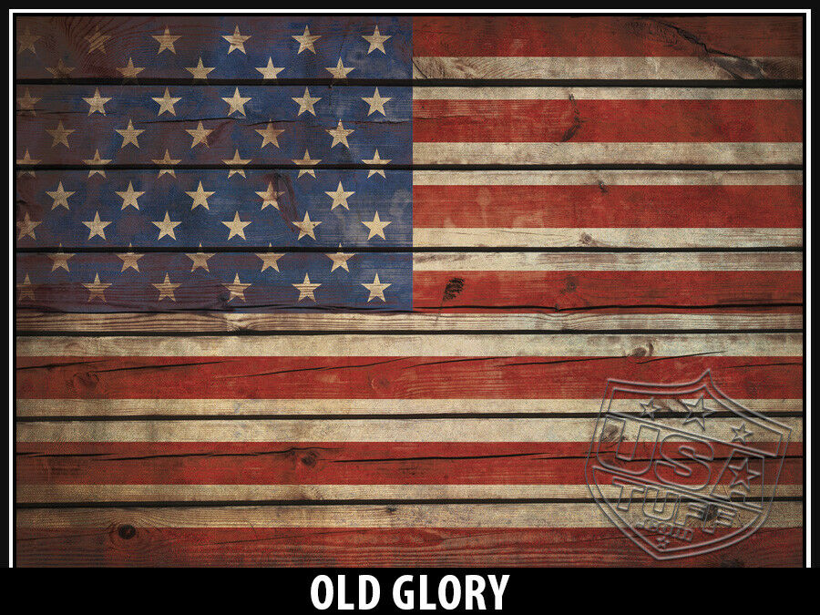 USATuff FULL Custom Cooler Wrap Decal fits Grizzly 75qt FULL USATuff Old Glory d246a3