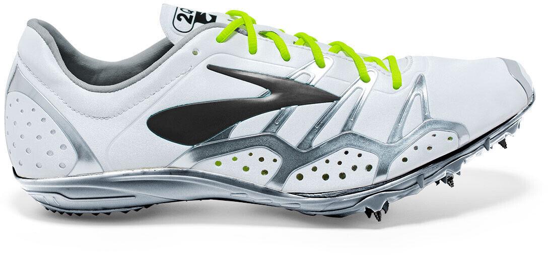 Brooks 2 Qw-K Running Spikes - White