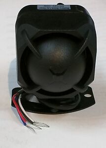 Car Alarm Siren With Backup Battery